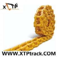 Lubricated track chain Komatsu caterpillar bulldozer