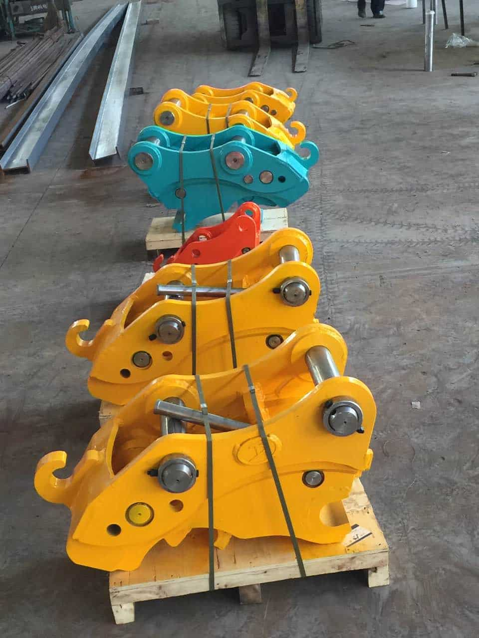 quick coupler Mini excavator attachments hydraulic quick